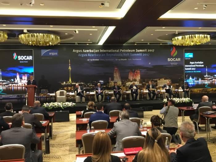 Le Sommet international du pétrole de Bakou entame ses travaux