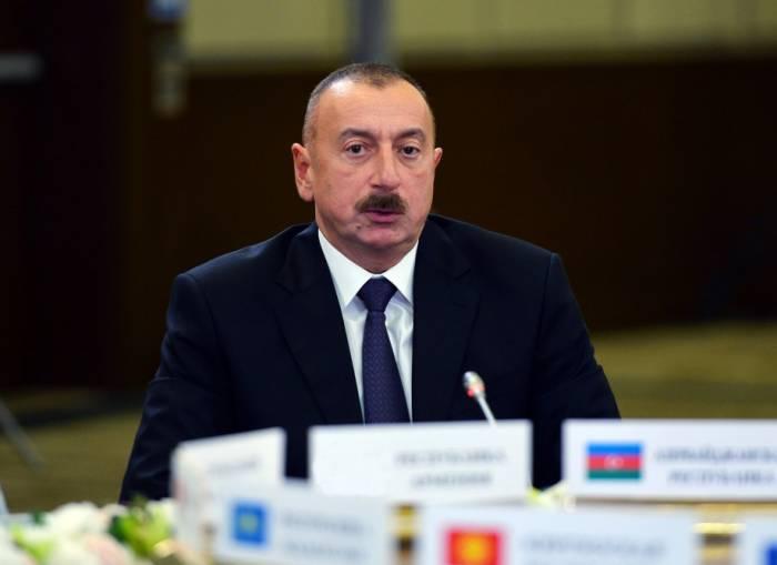 """İlham Əliyev: """"Şadıq ki, Rusiya və ABŞ bizim ölkəmizi seçdi"""""""