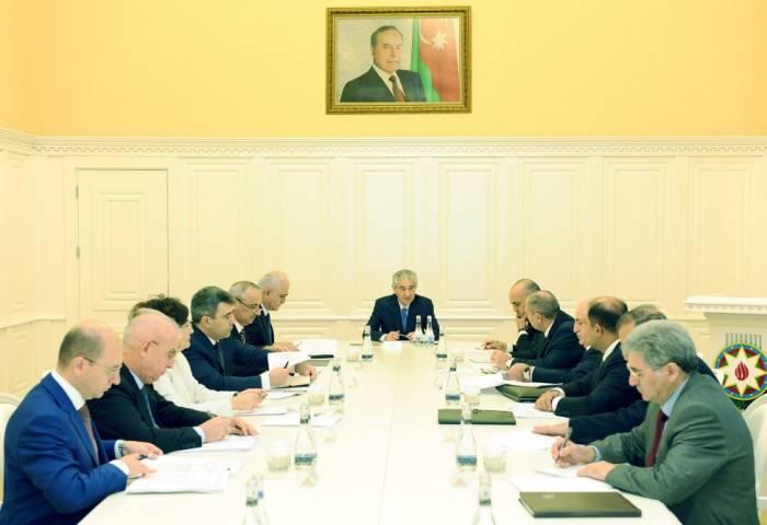 Prezidentin sərəncamı Nazirlər Kabinetində müzakirə edilib