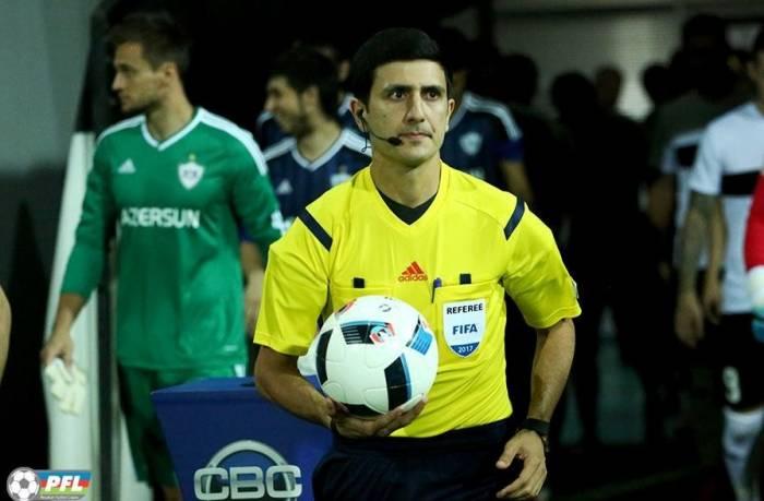 UEFA-dan Əliyar Ağayevə təyinat