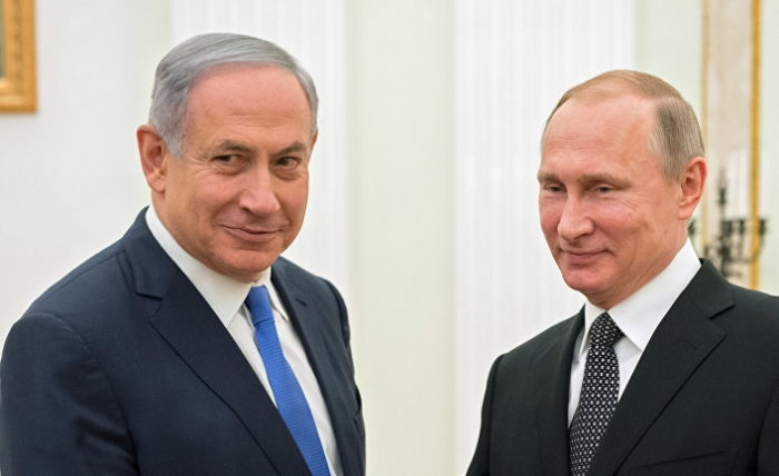 Netanyahu flies to Moscow for talks on Syria with Putin