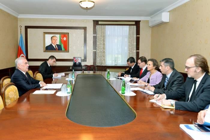 L'ambassadrice de France en Azerbaïdjan reçue à l'Assemblée suprême du Nakhtchivan