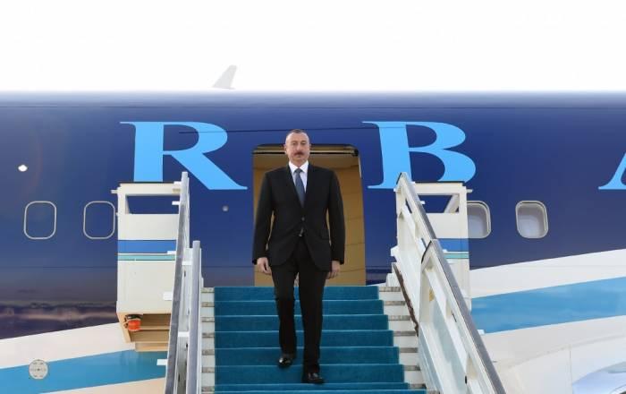 Ilham Aliyev zu Besuch in der Türkei eingetroffen