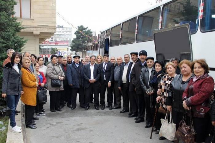 Nazirlik 101 əlili istirahətə göndərib