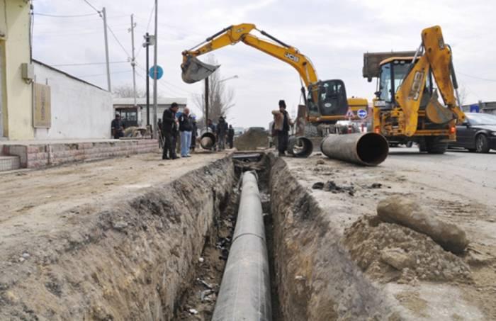 Lənkəranın su-kanalizasiya sistemləri yenidən qurulur
