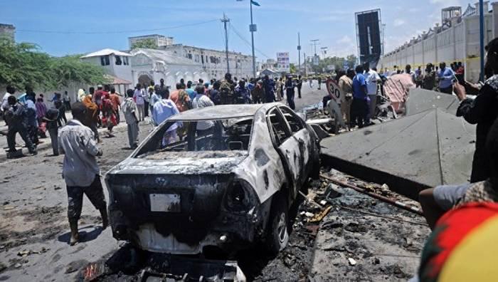 Moqadişoda partlayış olub - 10 ölü, 15 yaralı