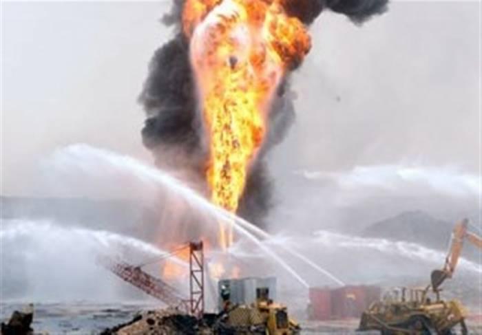 İranda neft yatağındakı yanğında 4 nəfər ölüb