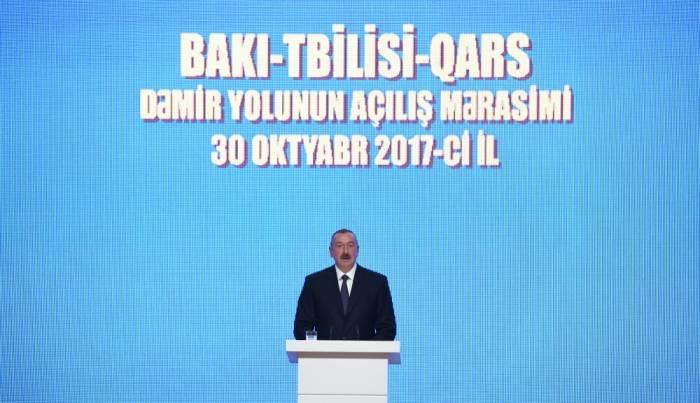 """""""Bəziləri bu layihənin uğurla başa çatacağına inanmırdı"""" - Prezident"""