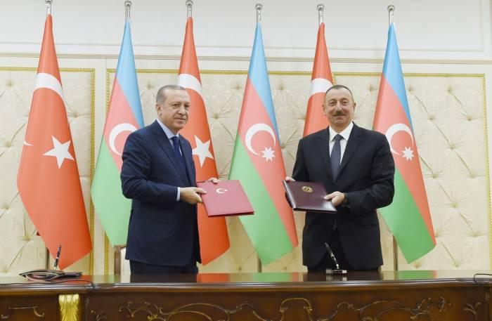 Azərbaycan-Türkiyə sənədləri imzalanıb - FOTOLAR