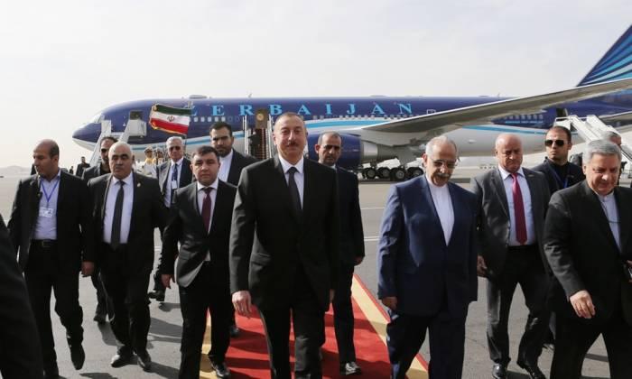 İlham Əliyev İranda səfərdədir - Fotolar