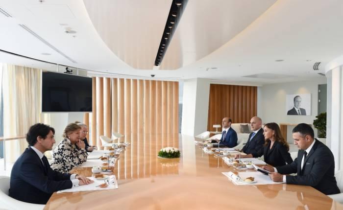 Vice-President Mehriban Aliyeva met with Italian delegation