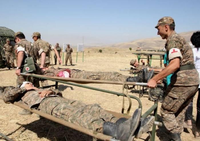 Düşmən ordusunun silah anbarında partlayış - 12 nəfər ölüb