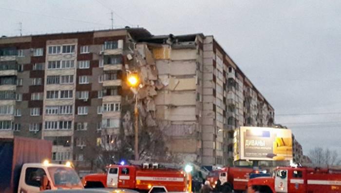 Rusiyada yaşayış binası çöküb - Ölən və yaralılar var
