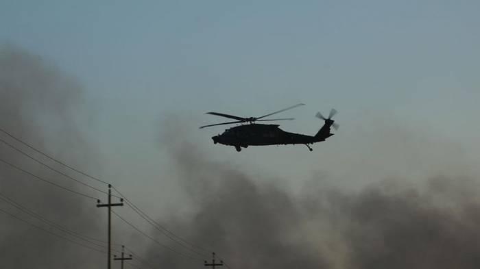 İraqda helikopter qəzaya uğrayıb, 7 nəfər ölüb
