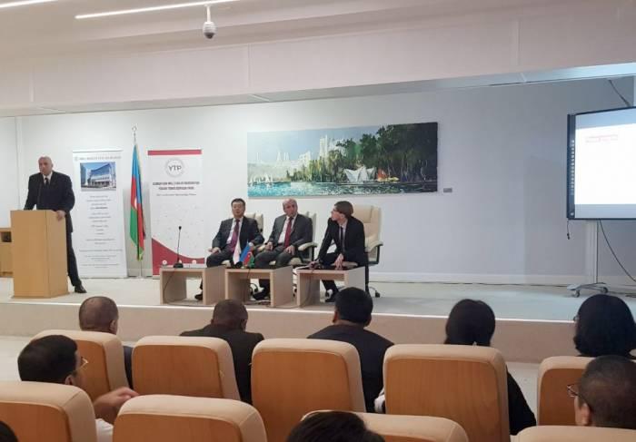 Azərbaycan-Çin Texnologiya Transferi Mərkəzinin açılış olub