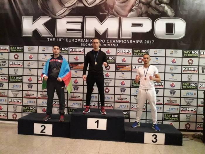 DİN-in əməkdaşı Avropa çempionatında gümüş medal qazanıb - FOTO