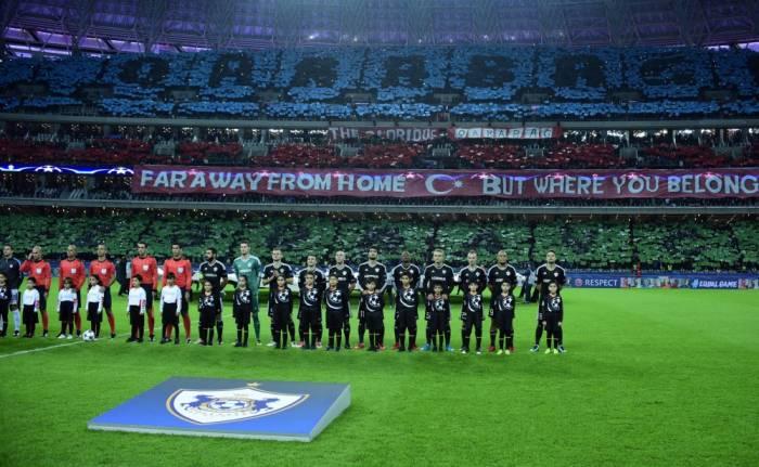 UEFA-Champions League: Duell zwischen FC Karabach Agdam und FC Chelsea beendet