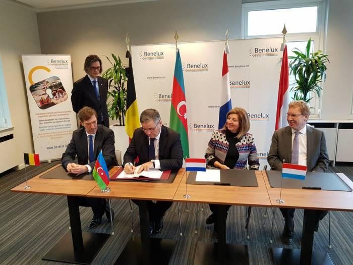 Aserbaidschan und Beneluxstaaten unterzeichnen Abkommen über visumfreies Reiseregime für die Inhaber von Dienstpässen