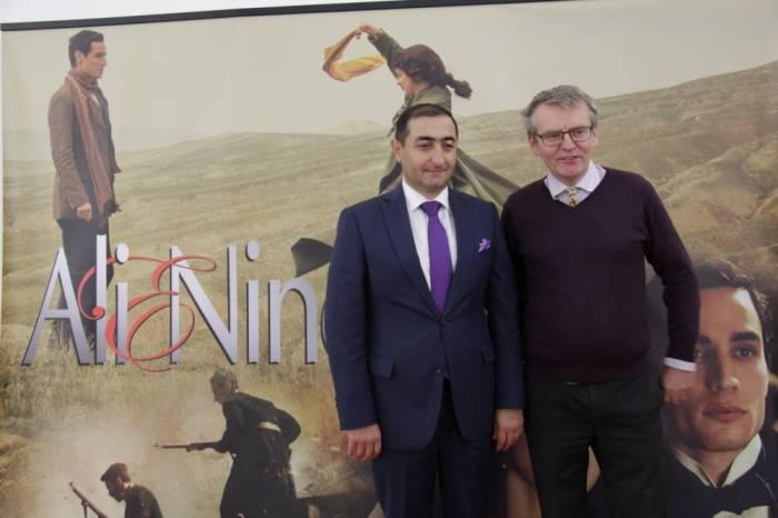 """""""Əli və Nino"""" filmi Litvada təqdim edildi"""