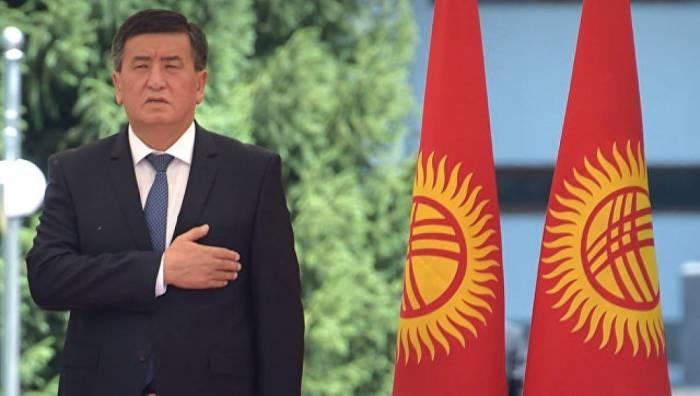 Kyrgyzstan inaugurates new president Sooronbai Jeenbekov