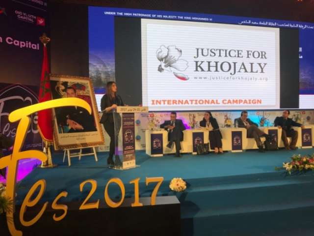 """""""Justice for Khojaly!"""" international campaign presented in Morocco"""