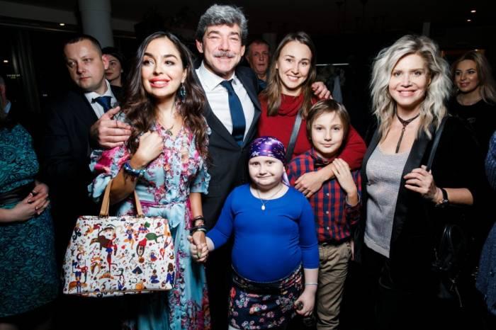Leyla Əliyeva Moskvada film təqdimatında - FOTOLAR
