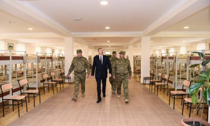 """Ali Baş Komandan """"N"""" saylı hərbi hissədə"""