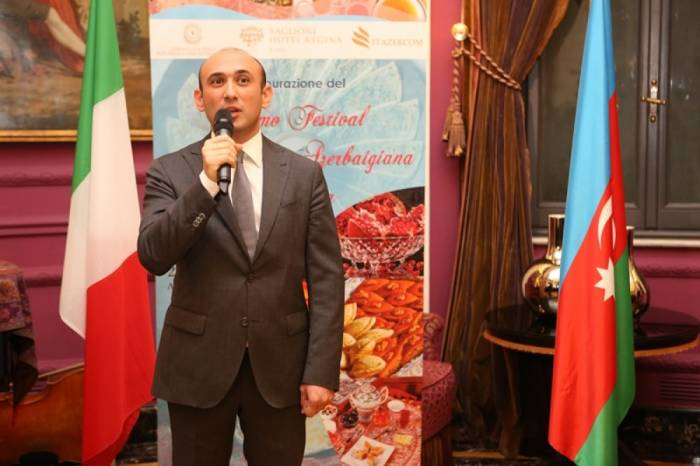İtaliyada Azərbaycan Mətbəxi Festivalı - Fotolar