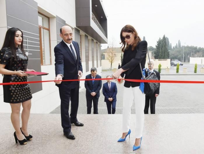 Mehriban Əliyeva açılışda iştirak etdi - Fotolar
