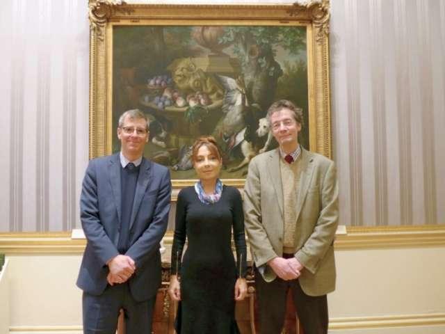 Head of Nizami Ganjavi Scientific Centre Nargiz Pashayeva meets with leading professors of University of Oxford