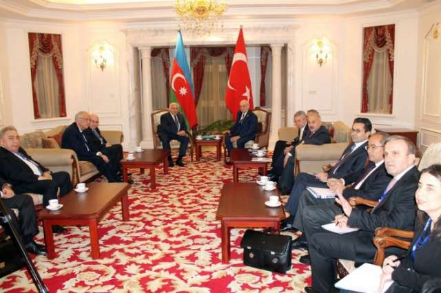 Head of Azerbaijani Parliament meets with speaker of the Turkish parliament