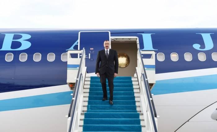 Prezidentin Türkiyəyə səfəri başa çatdı