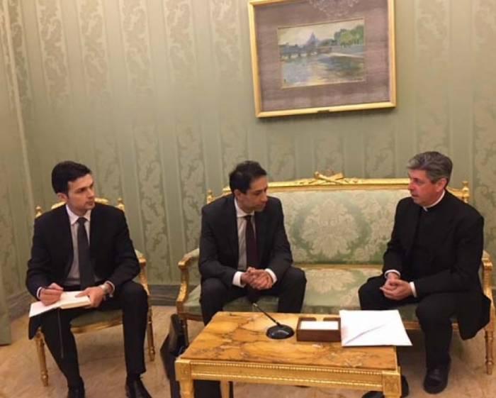 Les perspectives de développement des relations Azerbaïdjan-Vatican au menu des discussions