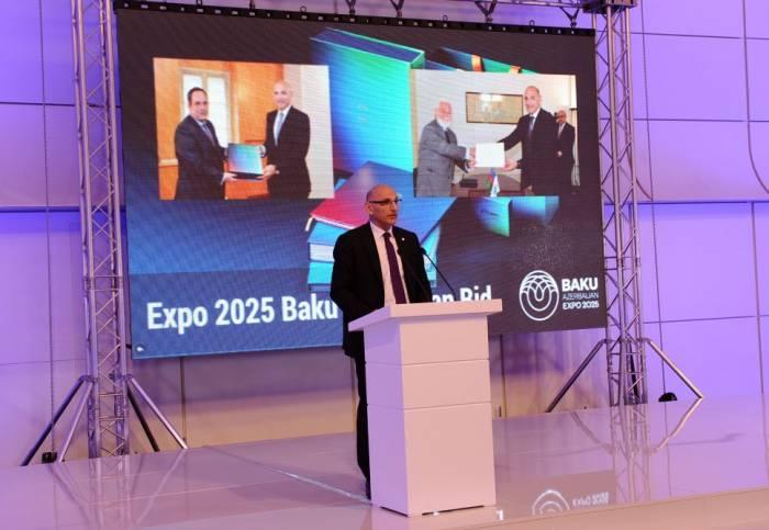 Une présentation sur le dépôt de la candidature de Bakou pour accueillir l'Expo universelle 2025