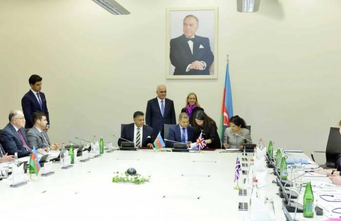 Zwei Memoranden zwischen Aserbaidschan und britischen Unternehmen unterzeichnet