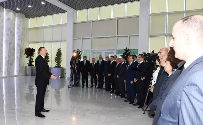 """""""İnsanlar bu pis vərdişdən əl çəksinlər"""" - Prezident"""