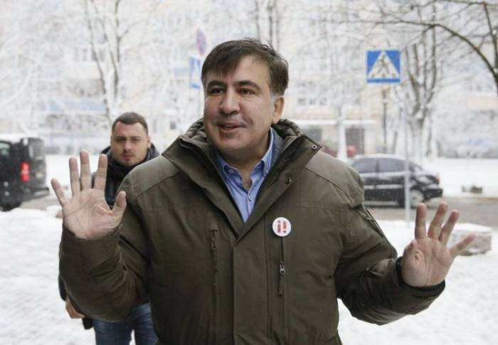 Saakaşvili yenidən tutuldu - VİDEO