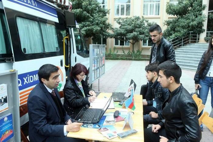 57 şəhərdə əmək yarmarkası keçirilib