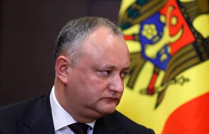 Moldova prezidentinin səlahiyyətləri dayandırıldı