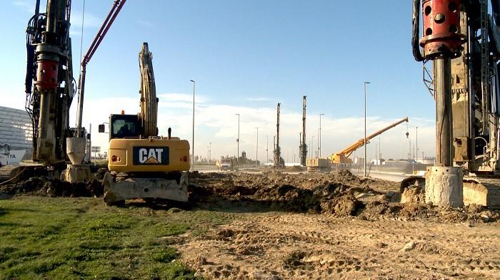 Bakıda yeni avtomobil tuneli tikilir - (FOTOLAR+VİDEO)
