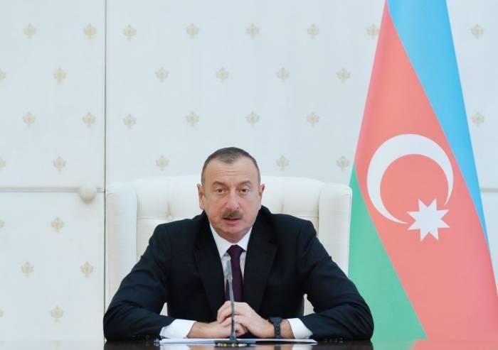 """İlham Əliyev: """"2017-ci ildə Azərbaycan sürətlə və uğurla inkişaf edib"""""""