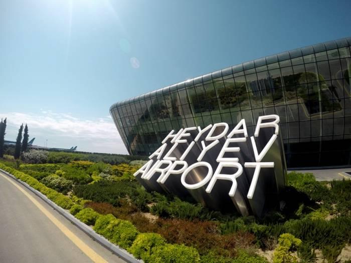2017 im Internationalen Flughafen Heydar Aliyev 4 Millionen Passagiere abgefertigt