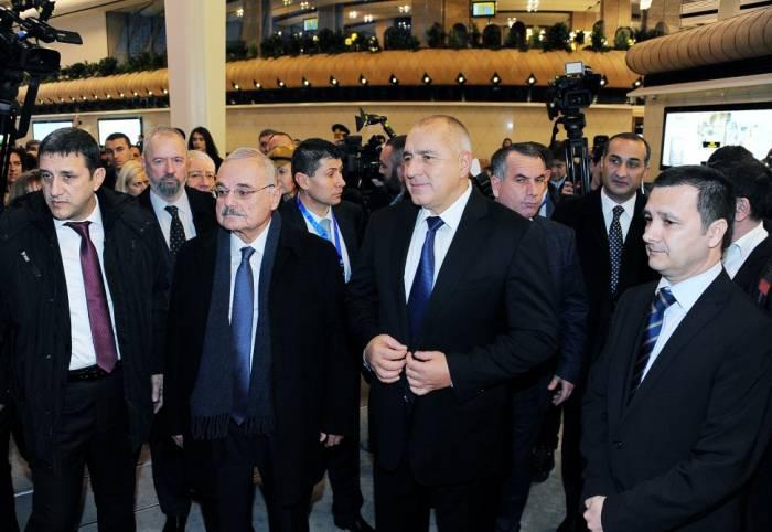 Artur Rasizadə Bakı-Sofiya aviareysinin açılışında - Fotolar (Yenilənib)
