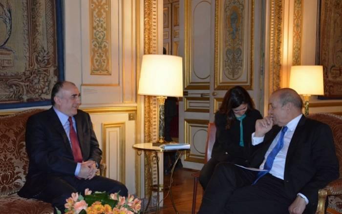 Mammadyarov a soulevé le problème du Karabakh au MAE de France