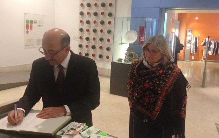 Əbülfəs Qarayev Paula Silva ilə görüşüb