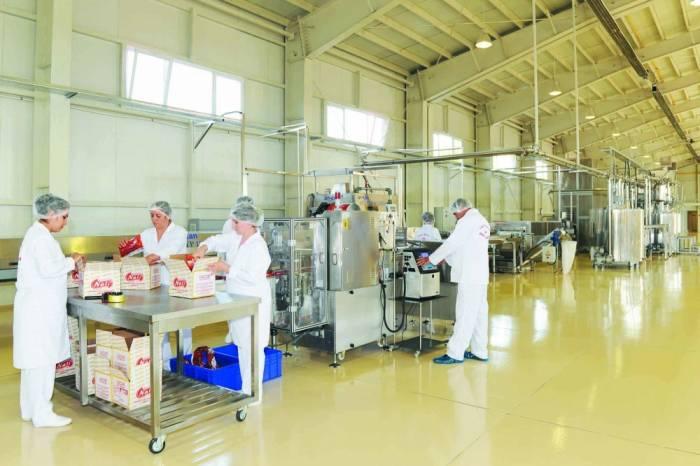 Tütün, qida və içki istehsalı artıb