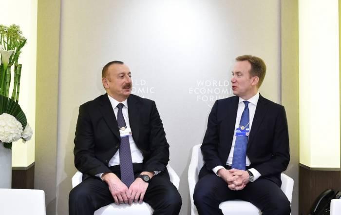 Le président azerbaïdjanais entame une visite de travail en Suisse