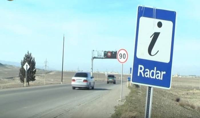 Sürücülərin diqqətinə: Yollarda 421 yeni radar quraşdırılıb