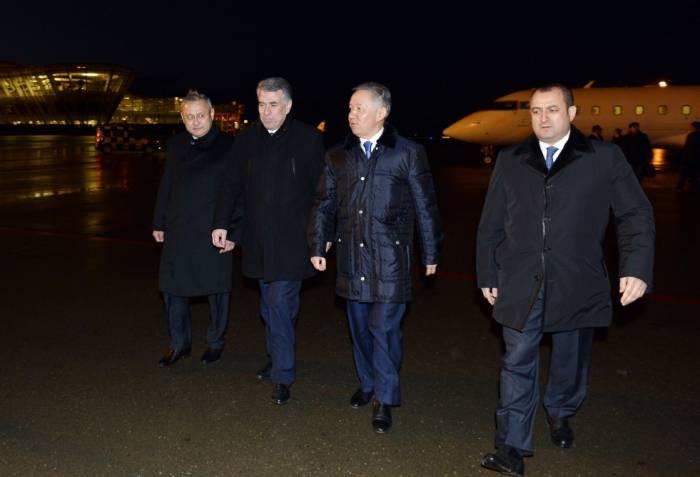 Qazaxıstanın spikeri Bakıya gəlib