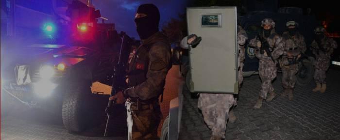 İstanbulda antiterror əməliyyatı - 82 nəfər tutulub